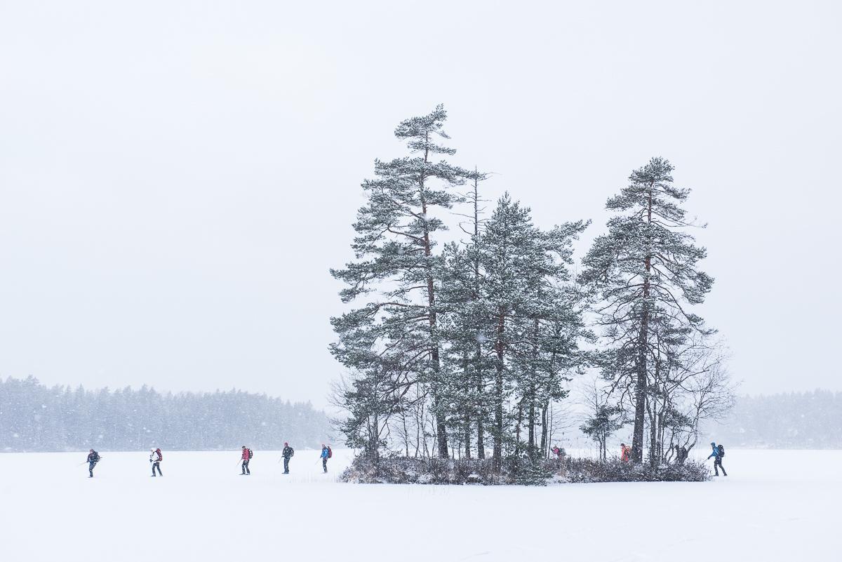 Årets första 43km långfärdskrinning.